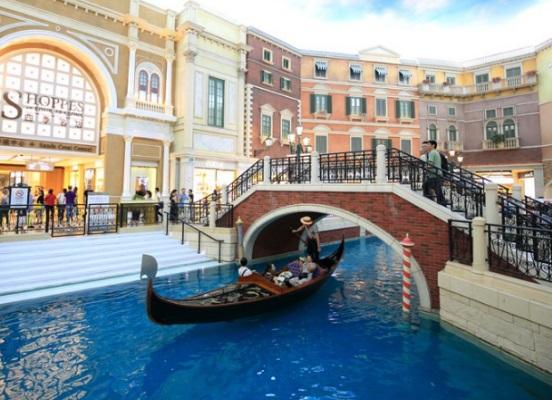 威尼斯人渡假村 貢多拉船