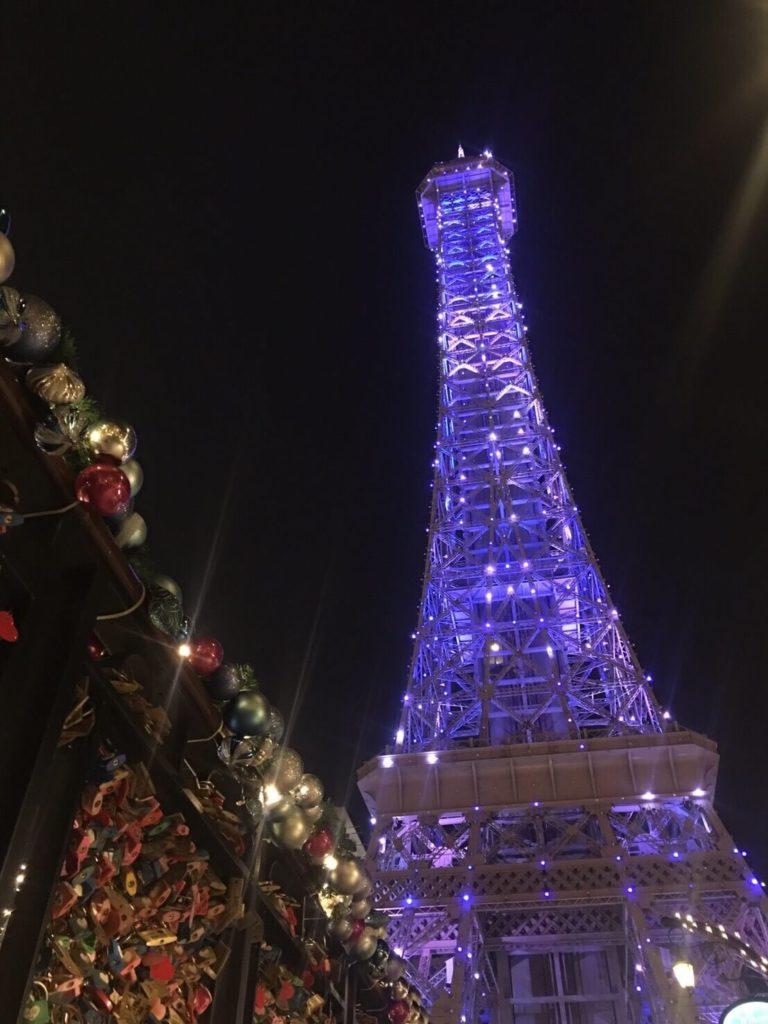 澳門賭城推薦飯店-澳門巴黎人巴黎鐵塔